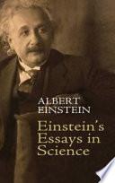 the life of albert einstein essay