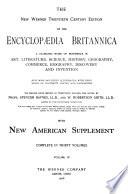 The New Werner Twentieth Century Edition of the Encyclopaedia Britannica Book PDF