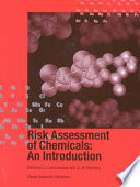 Risk Assessment of Chemicals  An Introduction