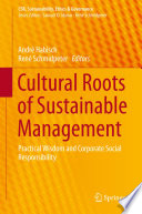 Cultural Roots of Sustainable Management