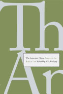 The American Illness Fields Of Law Economics And