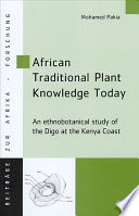 African Traditional Plant Knowledge Today Study Through Interdisciplinary Approach That Combines