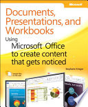 Documents  Presentations  and Worksheets