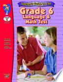 Grade 6 Math Language Test   Teacher Guide