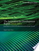 The Innovation for Development Report 2010 2011