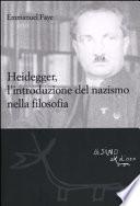 Heidegger  l introduzione del nazismo nella filosofia