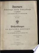 Verhandlungen des Krainischen Landtages zu Laibach