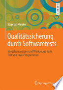 Qualit  tssicherung durch Softwaretests