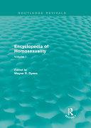 download ebook encyclopedia of homosexuality pdf epub