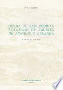 Diego De San Pedro S Tractado De Amores De Arnalte Y Lucenda book