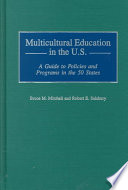 Multicultural Education in the U S