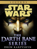 Darth Bane  Star Wars Legends 3 Book Bundle