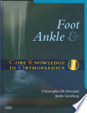 Foot And Ankle : treatment. organized by disorder, and a...