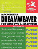 Dreamweaver MX for Windows and Macintosh