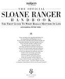 The official Sloane Ranger handbook