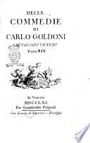 Delle commedie di Carlo Goldoni avvocato veneto. Tomo 1. (-17.)