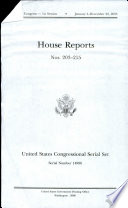 United States Congressional Serial Set  Serial No  14986  House Reports Nos  203 215