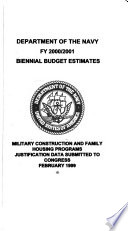 Military Construction Appropriations For 2000