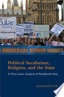Political Secularism  Religion  and the State