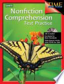 Nonfiction Comprehension Test Practice  Level 6
