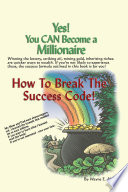 Yes You Can Become A Millionaire