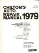 Chilton's Auto repair manual, 1979
