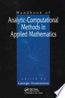 Handbook Of Analytic Computational Methods In Applied Mathematics book