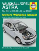 Vauxhall Opel Astra Service And Repair Manual