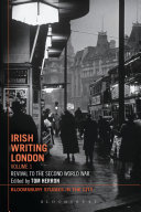download ebook irish writing london: volume 1 pdf epub