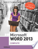 Microsoft Word 2013  Complete