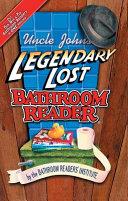 Uncle John s Legendary Lost Bathroom Readers