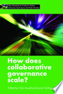 How Does Collaborative Governance Scale