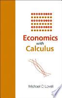Economics with Calculus