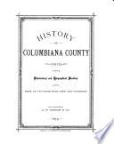 History of Columbiana County, Ohio