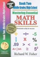 Mastering Essential Math Skills Book 2 Middle   High School With Companion Dvd