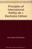 Principles of International Politics, 4th Ed. + Electronic Edition