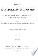 Lloyd s Encyclop  dic dictionary