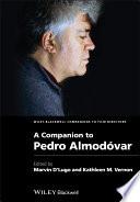 A Companion to Pedro Alm  3dovar