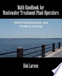 Math Handbook for Wastewater Treatment Plant Operators