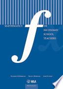 Mathematics for Secondary School Teachers