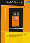 Prentice Hall Literature Penguin Edition Readers Notebook Grade 11 2007c