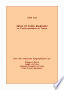 Jules et Alice Sauerwein et l'anthroposophie en France