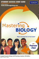 Masteringbiology with Pearson Etext    Standalone Access Card    For Campbell Essential Biology  with Physiology Chapters