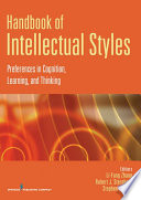 Handbook of Intellectual Styles