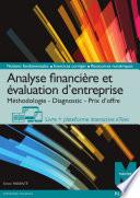 Analyse financi  re et   valuation d entreprise