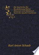 Die Geschichte Der Bundesfestung Mainz  Historisch Und Milit risch Nach Den Quellen bearbeitet