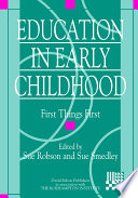 Education In Early Childhood book