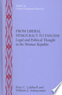 From Liberal Democracy to Fascism