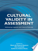 Cultural Validity in Assessment
