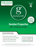 Number Properties GRE Preparation Guide  1st Edition